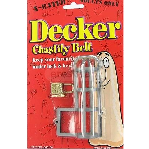 Клетка для пениса Decker Chastity Belt