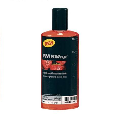Массажное масло Warmup клубника