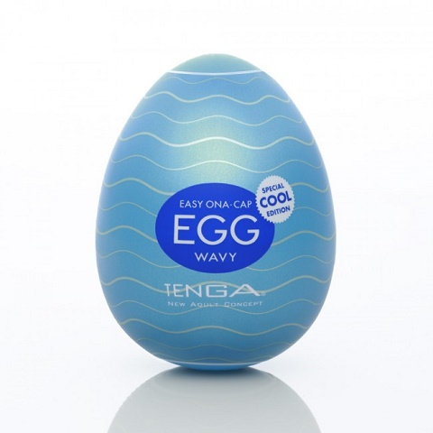 Мастурбатор-яичкоTenga Egg Cool White OS