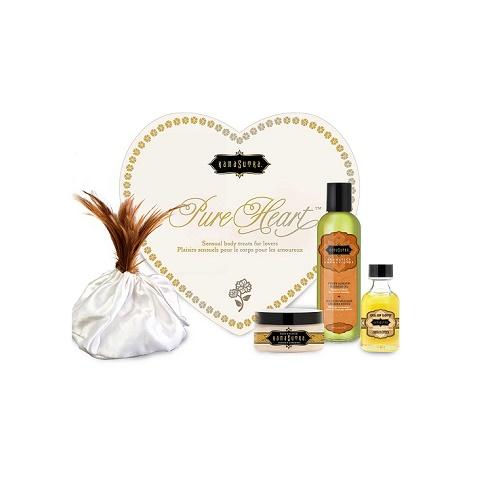 Подарочный набор чувственной косметики для тела Pure Heart Kit