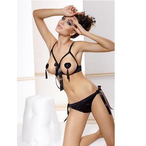 Сексуальный комплект с открытой грудью Anais Aida