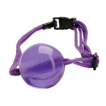 Кляп Japanese Silk Love Rope Ball Gag Purple