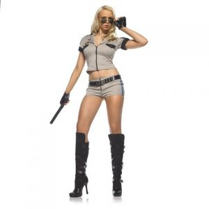 Эротический костюм Strip Search Sherriff