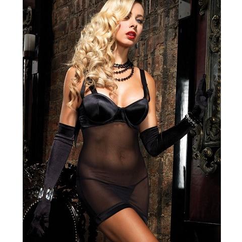 Сексуальное вечернее черное платье