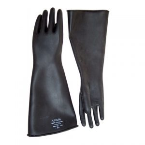 Длинные перчатки Thick Industrial Rubber Gloves