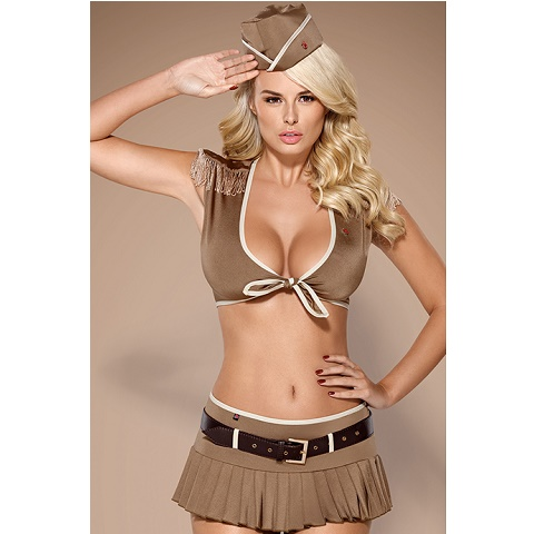 Эротический костюм Obsessive soldier