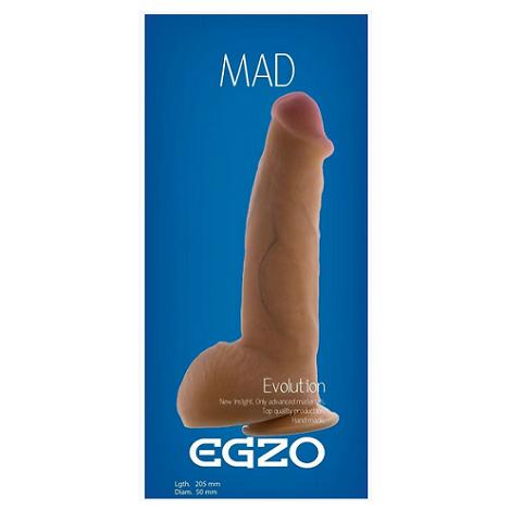 Реалистичный фаллоимитатор на присоске Egzo DS009